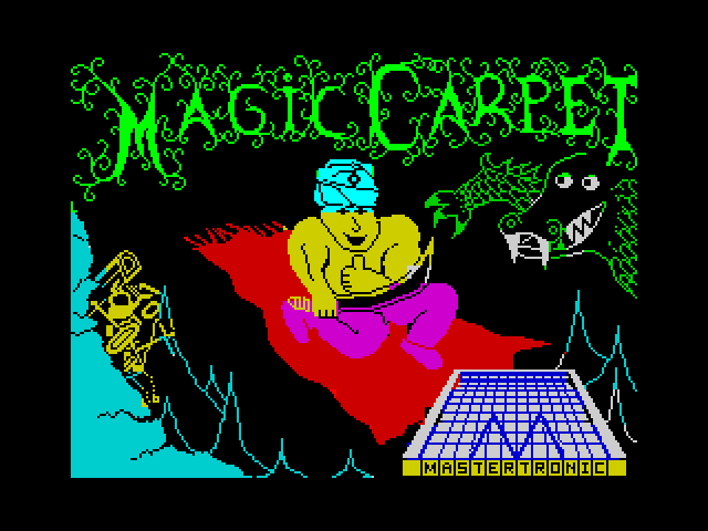 Magic Carpet screenshot