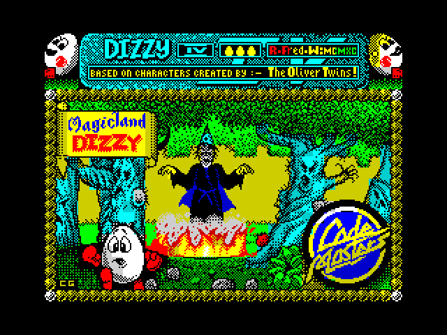 Magicland Dizzy screen