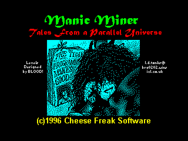 [MOD] Manic Miner 3: Tales from a Parallel Universe screen
