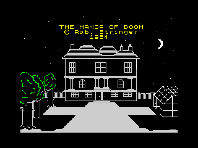 Manor of Doom screen
