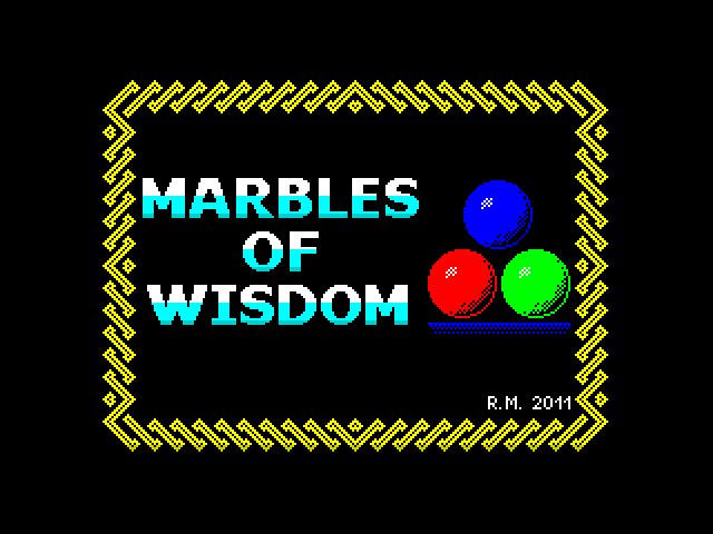 Marbles of Wisdom screenshot