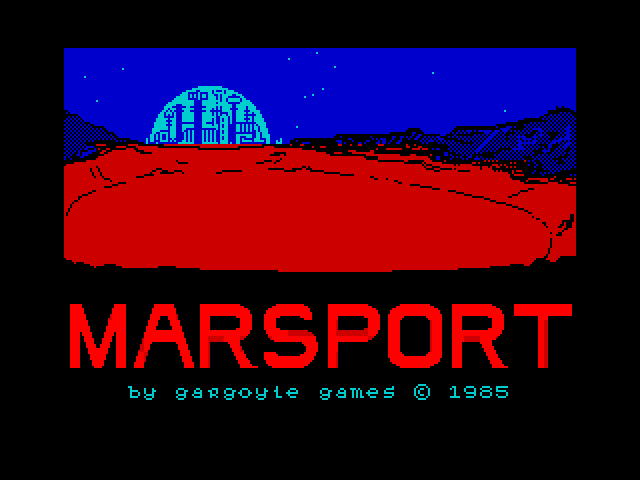 Marsport screenshot