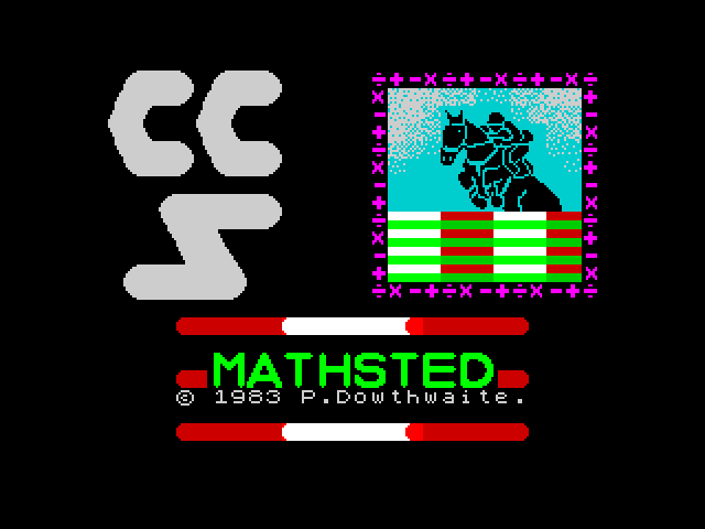 Mathsted screen