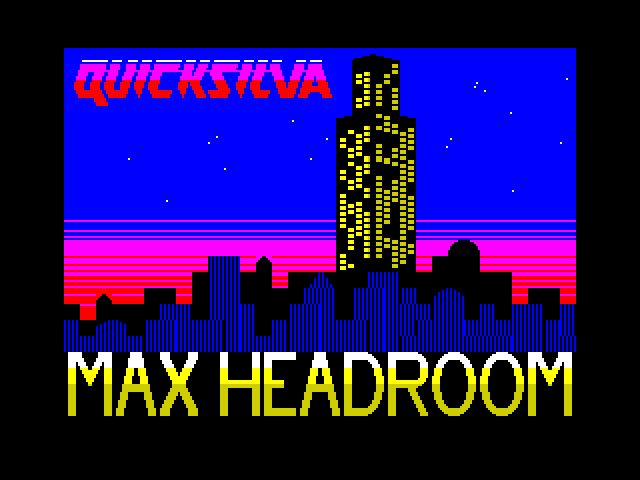 Max Headroom screenshot