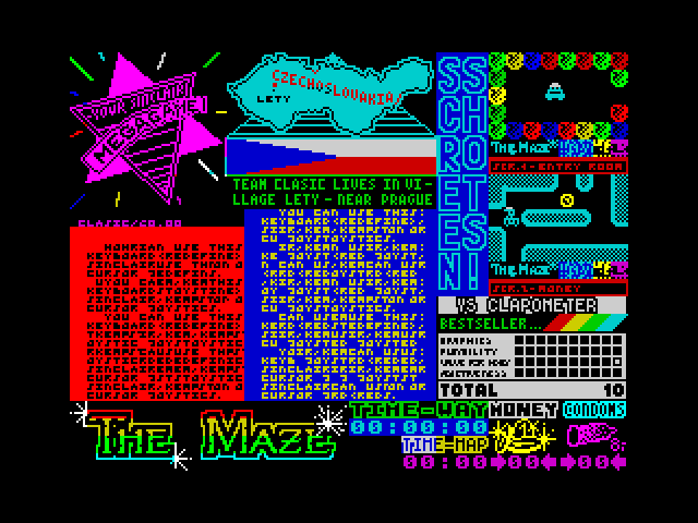 The Maze screenshot