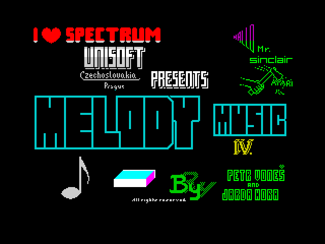 Melody Music IV screen