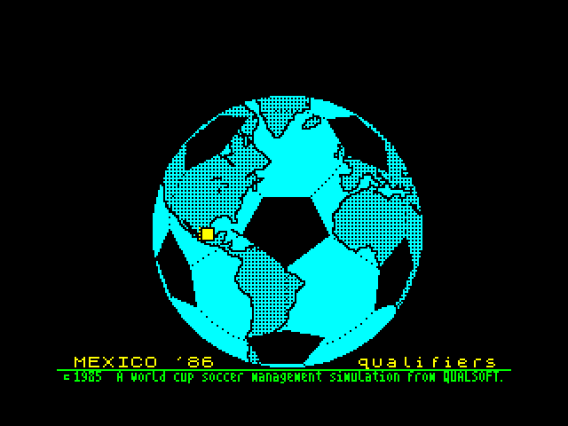 Mexico '86 image, screenshot or loading screen