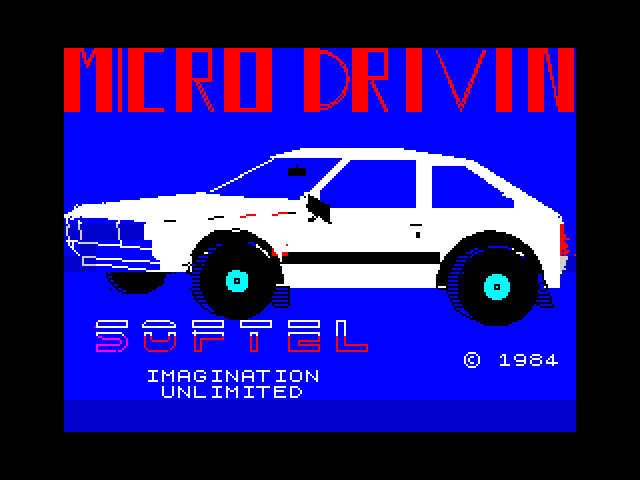 Micro Drivin' image, screenshot or loading screen