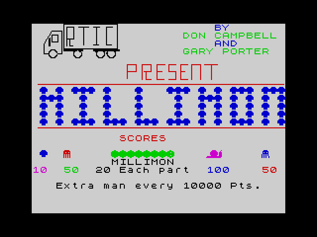 Millimon screen
