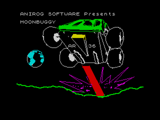 Moon Buggy screen