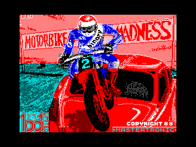 Motorbike Madness screen