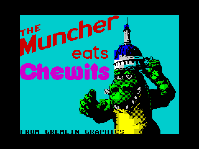 The Muncher screenshot