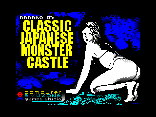 Nanako in Classic Japanese Monster Castle screenshot