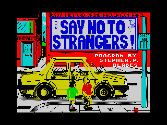 Never Go with Strangers screen