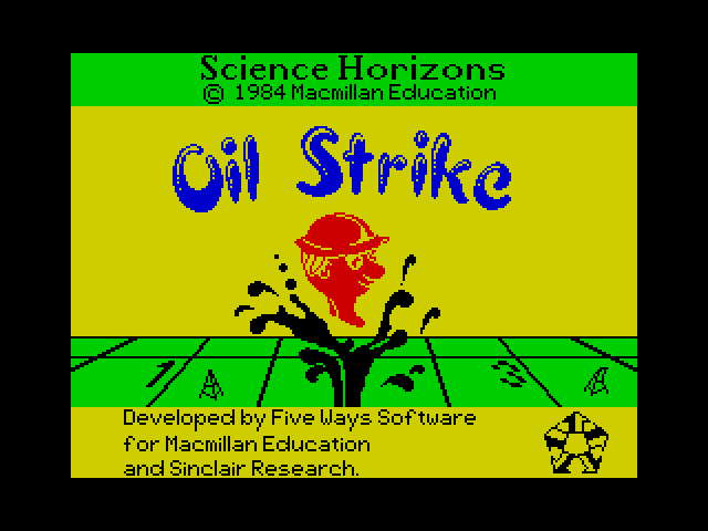 Oil Strike screen