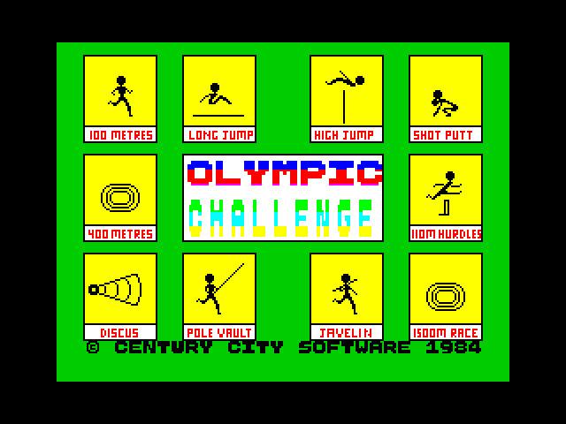 Olympic Challenge screenshot