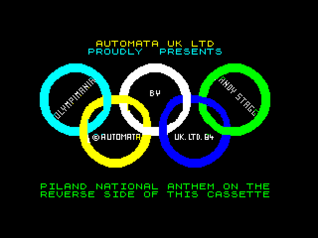 Olympimania screenshot