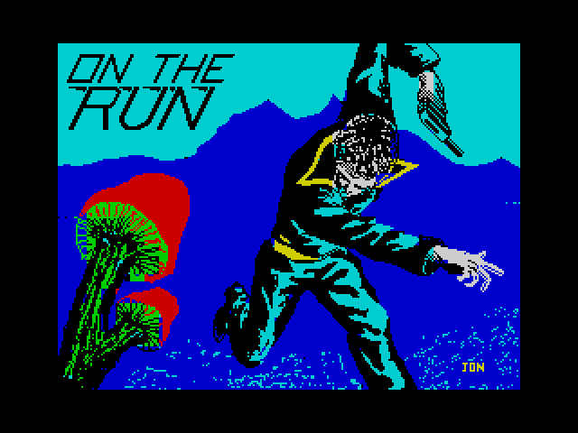 On the Run screen