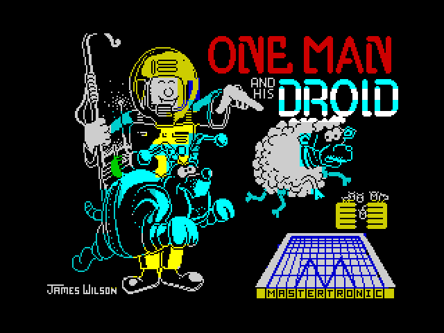 One Man and His Droid image, screenshot or loading screen