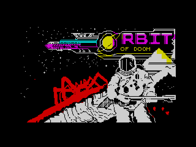 Orbit of Doom screen