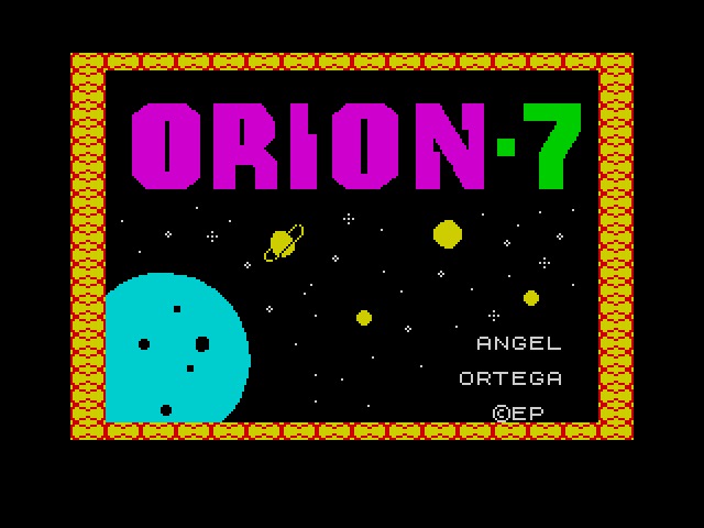 Orion-7 screen