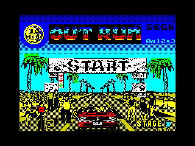 Out Run image, screenshot or loading screen