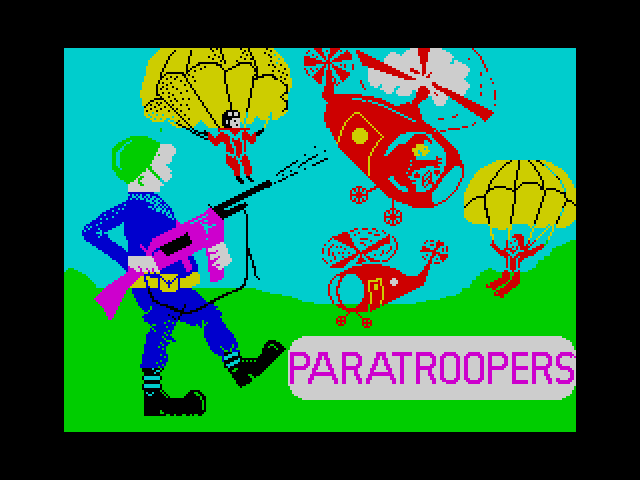 Paratroopers screen