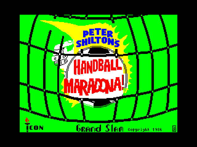 Peter Shilton's Handball Maradona screenshot