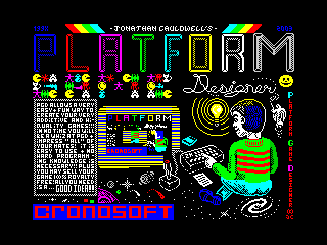 Platform Game Designer image, screenshot or loading screen