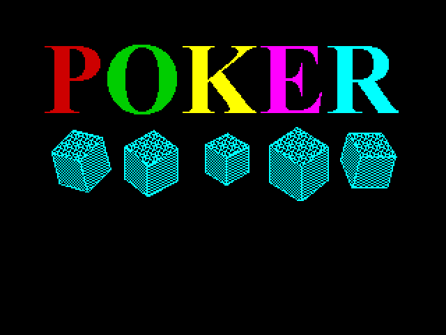 Poker screenshot