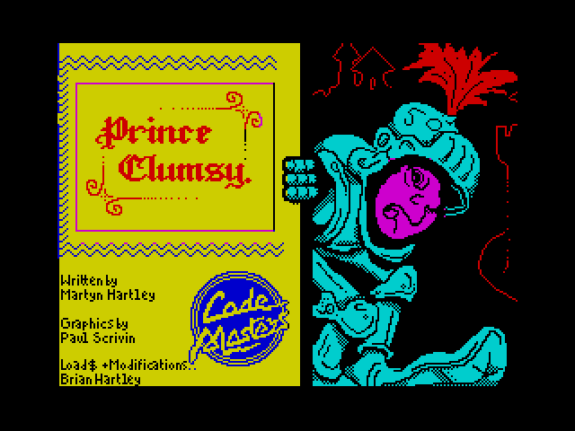 Prince Clumsy screen