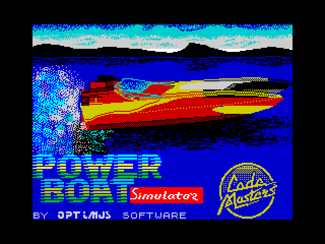 Pro PowerBoat Simulator screenshot