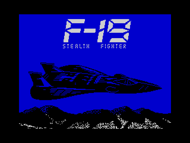 Project Stealth Fighter image, screenshot or loading screen