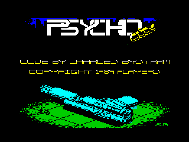 Psycho City screen