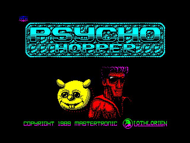 Psycho Hopper screen