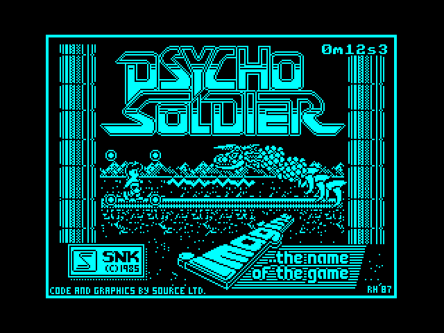 Psycho Soldier image, screenshot or loading screen
