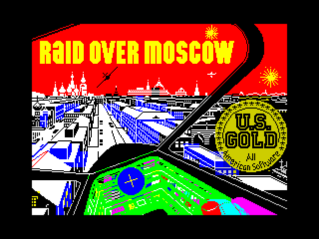 Raid over Moscow screenshot