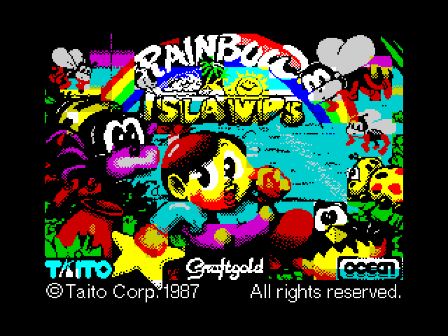 Rainbow Islands screenshot