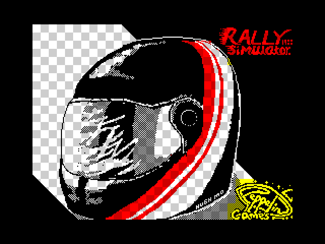 Rally Simulator screenshot