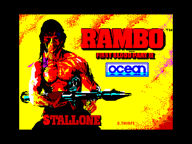 Rambo image, screenshot or loading screen