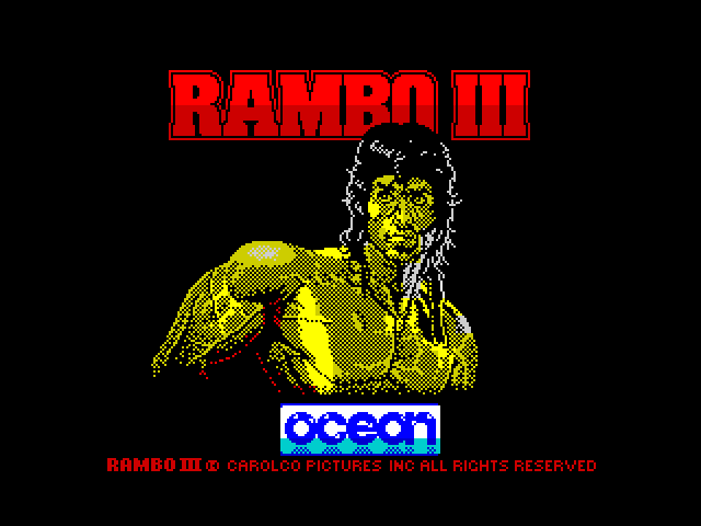 Rambo III screen