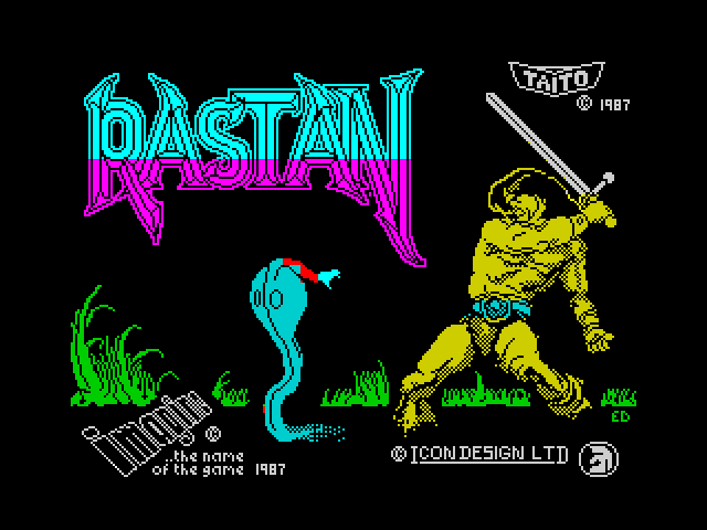 Rastan screen