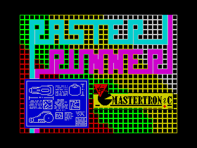 Raster Runner screen