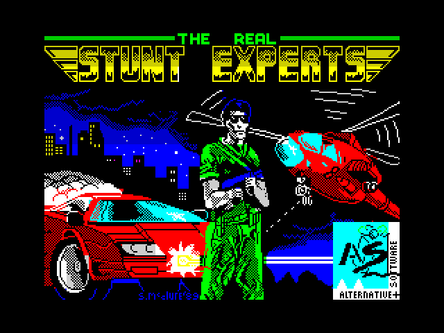 The Real Stunt Experts screenshot