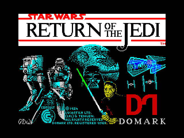 Return of the Jedi screen