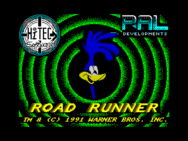 Road Runner and Wile E. Coyote screen