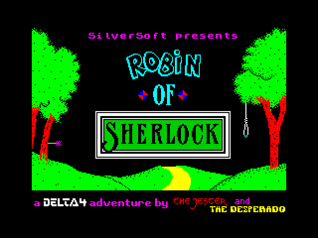 Robin of Sherlock screen