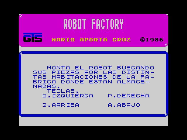 Robot Factory screenshot