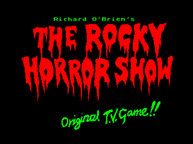 The Rocky Horror Show screen