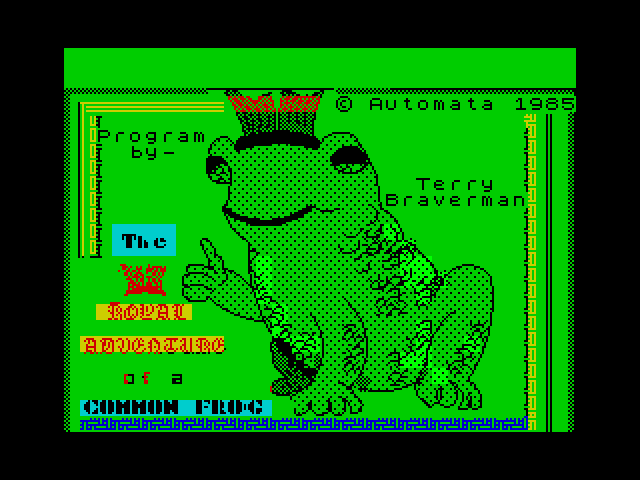 Royal Adventures of a Common Frog image, screenshot or loading screen